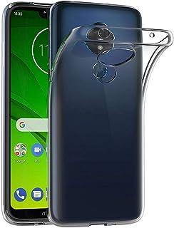 غطاء حماية شفاف لهاتف موتورولا موتو جي 7 (6.2 انش) من مايجين، مصنوع من جل بولي يوريثين حراري مطاطي ناعم