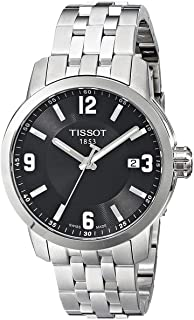 Tissot Sport Watch for Men - Stainless Steel Band, Quartz - T055.410.11.057.00