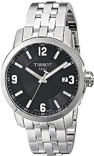 ساعة رياضية للرجال من تيسوت - سوار ستانلس ستيل، كوارتز - T055.410.11.057.00