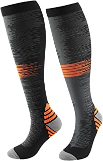 YUGSOUL Compression Socks for Men, 20-30mmHg, Compression Stockings for Sports