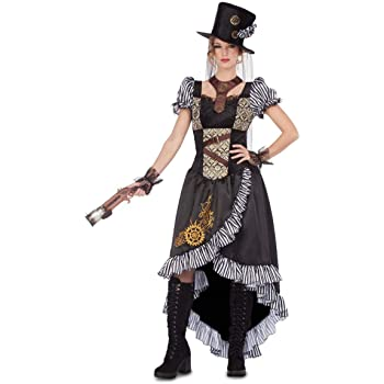 Disfraz de aventurera steampunk para mujer: Amazon.es: Juguetes y ...