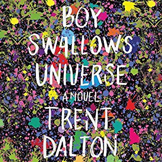 Boy Swallows Universe     A Novel              By:                                                                                                                                 Trent Dalton                               Narrated by:                                                                                                                                 Stig Wemyss                      Length: 16 hrs and 42 mins     7 ratings     Overall 4.4