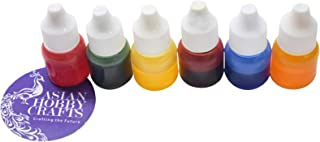 Asian Hobby Crafts Color Pigment for Candle Making : Set of 6 Colors : 5 ml Each (Set B)