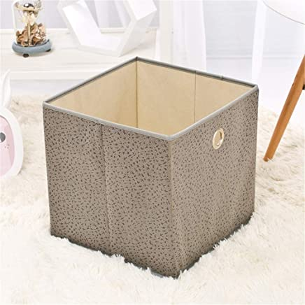 MxZas Durable Foldable Pop Room Tidy Storage Chest Toy Box For Girls And Boys Perfect For Household Storage  Fabrics Toys Easy Assemble  Color Gray  Size Free size