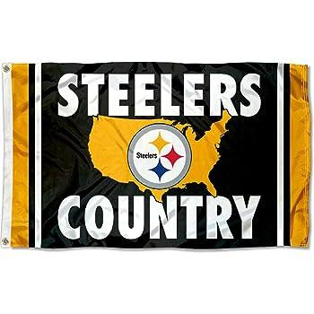 Team Pittsburgh Steelers Pride Flag 36 x 47