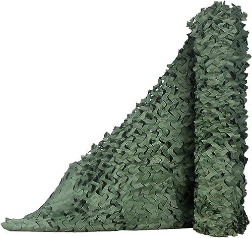 YANGJUN-Filet De Camouflage Crème Solaire Poids Léger Durable Anti-UV Résistant à l'usure Camouflage Tissu Oxford De Plein Air Personnalisable Plusieurs Tailles (Couleur   Vert, Taille   4x5m)
