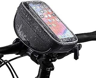 Heaviesk B-Soul Triangolo Impermeabile Borse Bici da Bicicletta Borsa Telaio Anteriore Borsa Bici Porta Sella Borsa Manubrio Accessori Bici