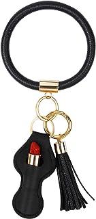 African Mask Key Rings Set of 3 keychain hand made keyring key chain akm1