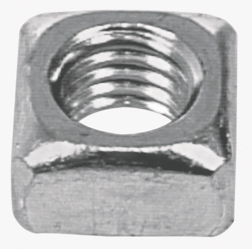 The Hillman Group 3334 10-24 Zinc Now on 2021 autumn and winter new sale Square Nut Plated 60-Pack