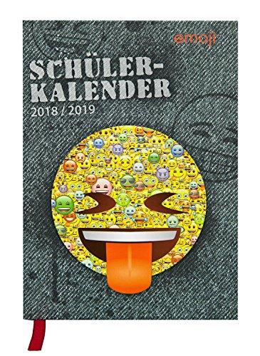 Undercover EMCA0951 - Schülerkalender, Emoji, ca. 11,5 x 16 x 2,5 cm