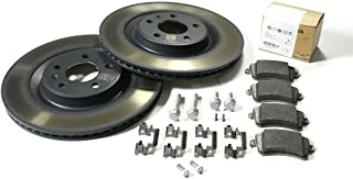 Original Audi A4 S4 A5 S5 Q5 SQ5 Bremsenkomplettsatz Hinterachse (nur PR Nr. 1KE 1KP) Bremsen Bremsscheiben Bremsbeläge 8K0098601H