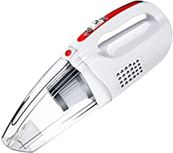 Portable Cordless120w Handheld Car Vacuum Cleaner, 5000PA Strong Suction, High Power, Quick Cleaning, Wet Dry Use,White