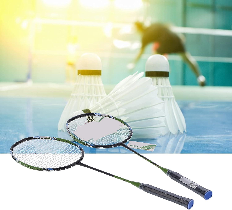 FECAMOS Badminton Training Racquets, Reusable/Durable Lightweigh