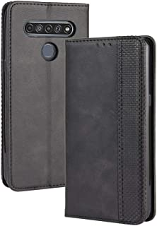 Mobile phone case For LG K41S /K51S Magnetic Buckle Retro Crazy Horse Texture Horizontal Flip Leather Case, with Holder & ...