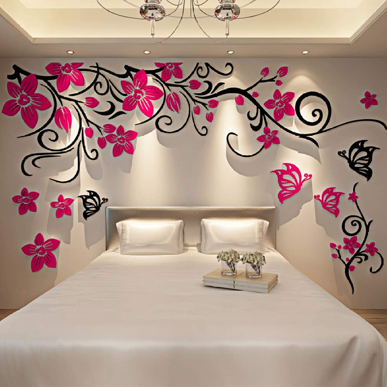 XWH Acryl 3D Stereo wandaufkleber Home Room Wohnzimmer Sofa TV Hintergrund Wand Dekoration wandaufkleber Aufkleber B07GLKGLLY | Räumungsverkauf