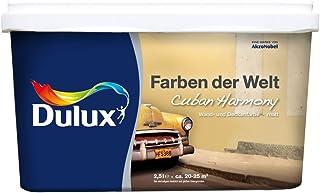 Dulux Colores del Mundo pared de techo y color mate, Beige, 5163215