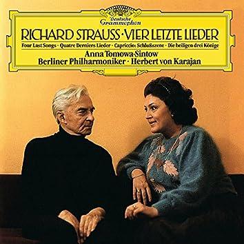 Strauss, R.: Vier letzte Lieder, TrV 296; 6. Die heiligen drei Könige aus Morgenland, Sechs Lieder, Op.56; Capriccio, Op.85