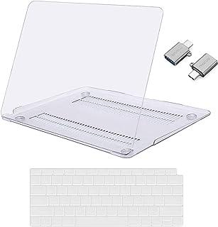 MOSISO Funda Dura Compatible con 2020-2018 MacBook Air 13 A2337 M1 A2179 A1932 Retina, Carcasa Rígida de Plástico & Cubier...