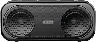 Promate 6959144046259 Powerful 10W True Wireless Bluetooth V5.0 Stereo Speaker with Built-In Mic, Otic Black