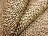 Ainsberry Fabrics Tela de arpillera de yute, 100 cm de ancho, se vende por...