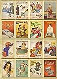 Immagine 1 monkeybrother 32 pezzi cartoline vintage