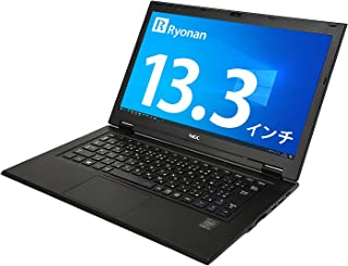 NEC 13.3型 ノートパソコン VK22TG Ryonan液晶クロス付き 第5世代Core i5 メモリ:4GB SSD:128GB WQHD(2,560×1,440) HDカメラ 軽量薄型(約851g) Win10 Office USB3...