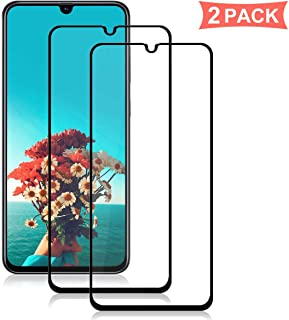 XINKOE [قطعتان في العبوة] واقي شاشة لهاتف Huawei Y6 2019، فائق النحافة HD 2.5D Pro-Fit واقي شاشة من الزجاج المقوى الممتاز