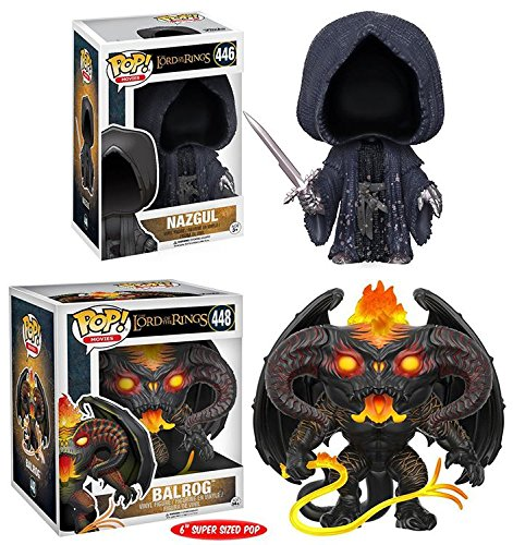 Funko POP! The Lord Of The Rings: Nazgul + Balrog 6