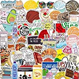 Cool Stickers 100pcs Super Durable Waterproof Vinyl Skateboard Bathroom Stickers Door Wall Notebook Mobile Phone Trolley case car Bicycle Toy Home Decoration Waterproof Graffiti Stickers