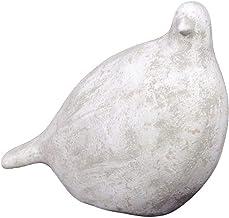 Urban Trends 66237 Decorative Ceramic Bird, Brown/White