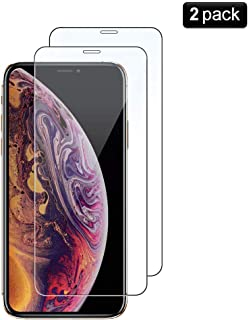 4a2e16ed5 PaceBid [2 Pack Protector de Pantalla iPhone XS/X, [Dureza 9H]