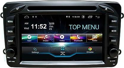 Car audio stereo headunit adatto per mercedes-benz clk w209 c class w203 a-class swtnvin android 10.0 B08B13RQ6D