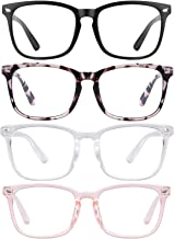 Blue Light Blocking Glasses Square Nerd Eyeglasses Frame Anti Blue Ray Computer Glasses Non Prescription