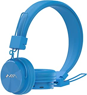 Wireless Bluetooth Headphones On Ear Portable Headsets Ergonomic Fit Superb Comfort with Microphone, Support TF Card, FM R...