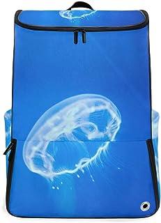MALPLENA Mochila de Senderismo para Camping al Aire Libre Lovely Jellyfish Mochila de Viaje