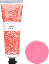 Spa Luxetique Rose Hand Cream Set. Shea Butter Hand Cream for Dry Hands.