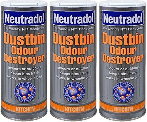 Neutradol Dustbin Odour Destroyer 350g x 3 packs