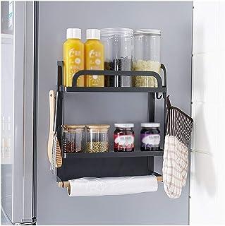 Dxbqm Organisateur de Rangement Cuisine Multifonction réfrigérateur Support de Rangement Organisateur étagère économiseur ...