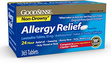 Best GoodSense Allergy Relief Loratadine Tablets, 10 mg, 365 Count Allergy Pills for Allergy Relief Reviews