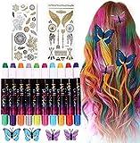 Haarfärbemittel Haarkreide für Mädchen