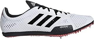 Adizero Ambition 4 White/Black/Red Track Shoes (B37483)