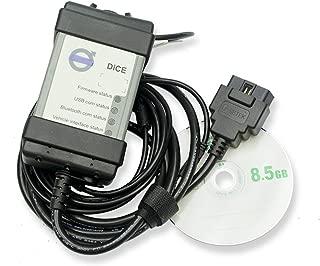 Lorenlli Lettore Multi-Lingua del Lettore di Codici di Errore Multi-Lingua di Supporto Auto Strumento diagnostico Professionale Chip Completo per Scanner Volvo Dida Vida
