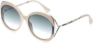 Jimmy Choo Square Sunglasses for Women - Silver & Gray Lens