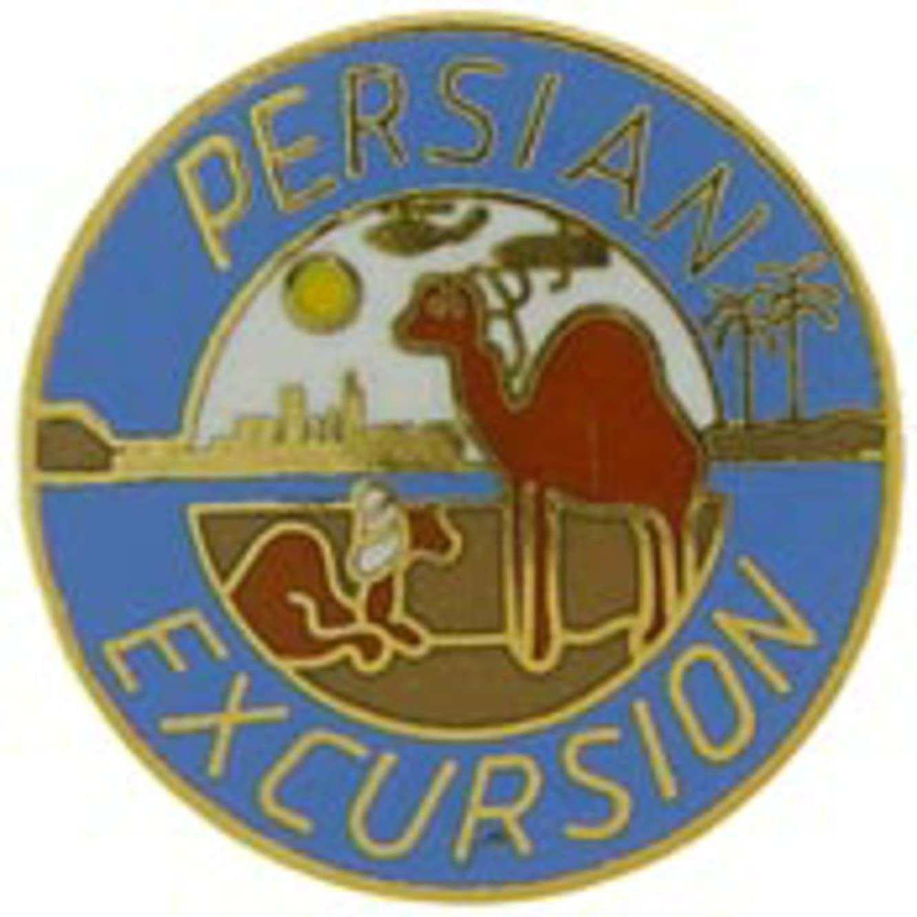 EagleEmblems P62973 Pin-Dest.Storm,Persian Excursion (1'')