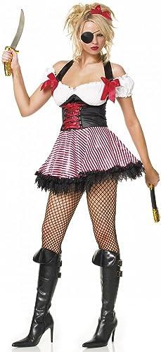 protección post-venta Patas Patas Patas de madera de Avenue disfraz infantil de (XL) joven pirata (rojo de Color blanco para faldas) y panTalla a juego para Fancy e instrucciones para hacer vestidos  grandes ahorros