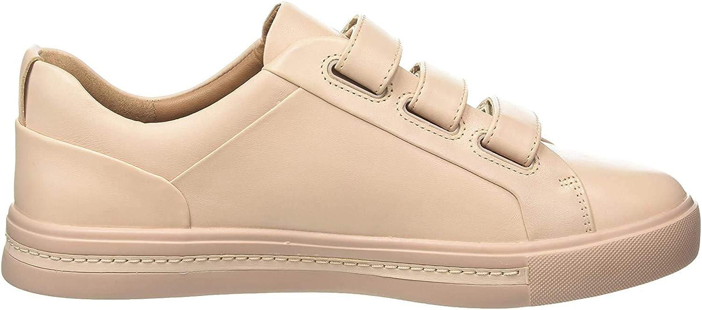 Clarks Women's Un Maui Strap Leath Blue Blush Over item handling ☆ Low-Top Sneakers Elegant