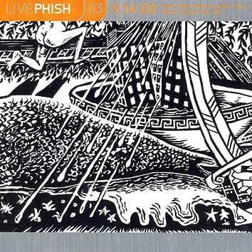 LivePhish, Vol. 3 9/14/00 (Darien Lake Peforming Arts Center, Darien Center, NY)