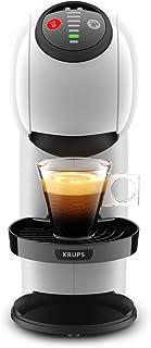 KRUPS Genio S Blanc Machine à Café Cafetière Fonction XL Intuitive Boissons Froides ou ChaudesMode Eco Témoin Détartrage ...