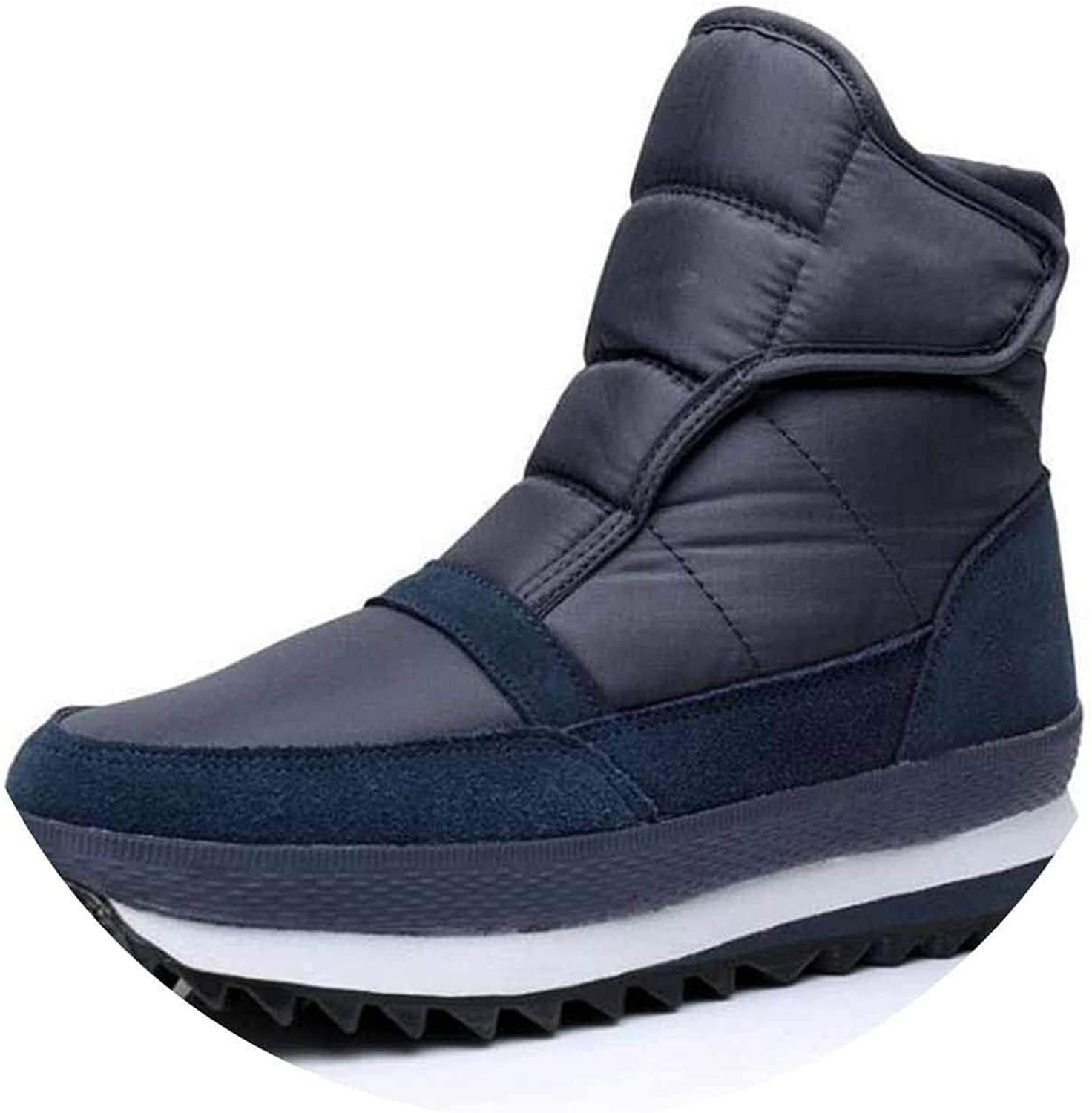 Winter Snow Boots Flat Non-Slip Winter shoes Ankle Boots Warm Winter Boots 35-42