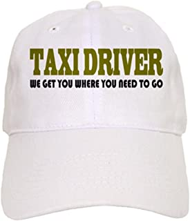 6f747bbd17200 CafePress - Funny Taxi Driver - Baseball Cap with Adjustable Closure